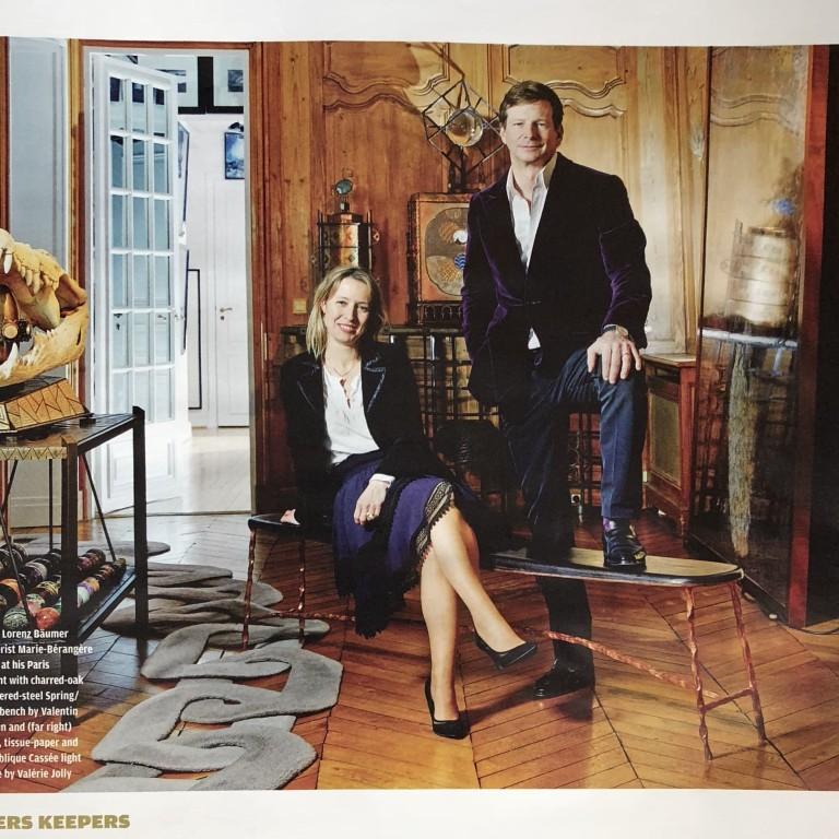 Financials Times - How to spend it - Marie-Bérangère Gosserez et Lorenz Baümer : Portrait croisé